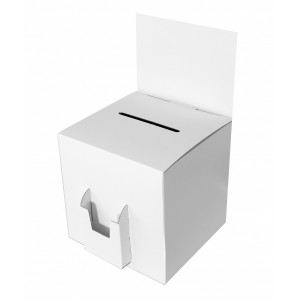 urne-en-carton-blanche-avec-porte-flyer