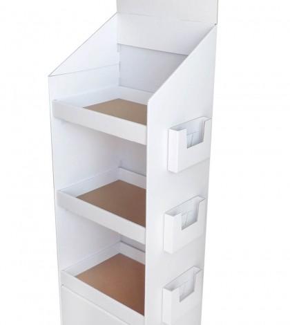 meuble display box plv carton totem en carton silhouette et plv sur mesure. Black Bedroom Furniture Sets. Home Design Ideas