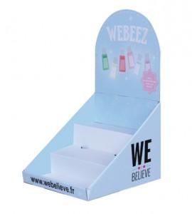PLV comptoir WEBEEZ 2