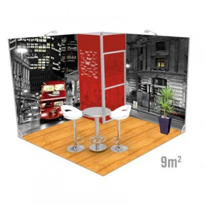Stand modulaire Vector 9m2