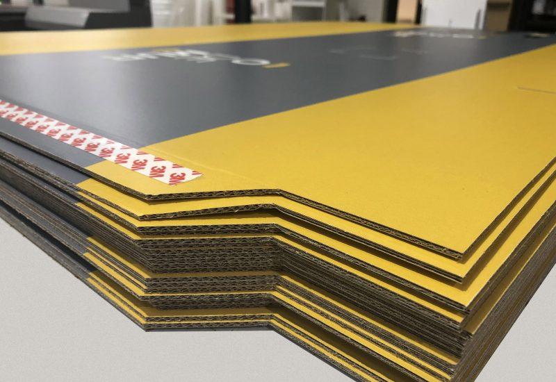 Fabrication de plv en carton